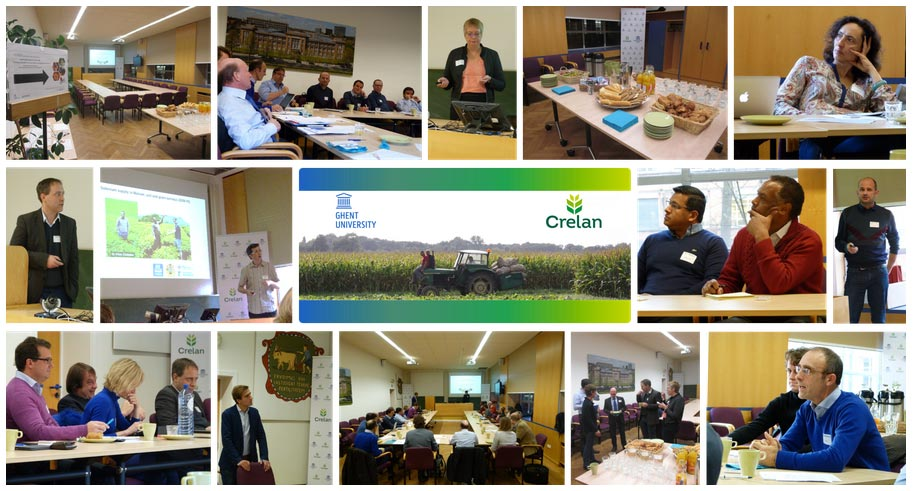"The meeting ""Creating nutrient-enriched foods through biofortification"" took place in December at the Campus of the University in Ghent, Belgium."