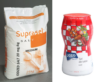 Iodized Table Salt